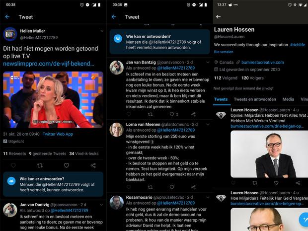 Wat doet Twitter tegen crypto-spam?