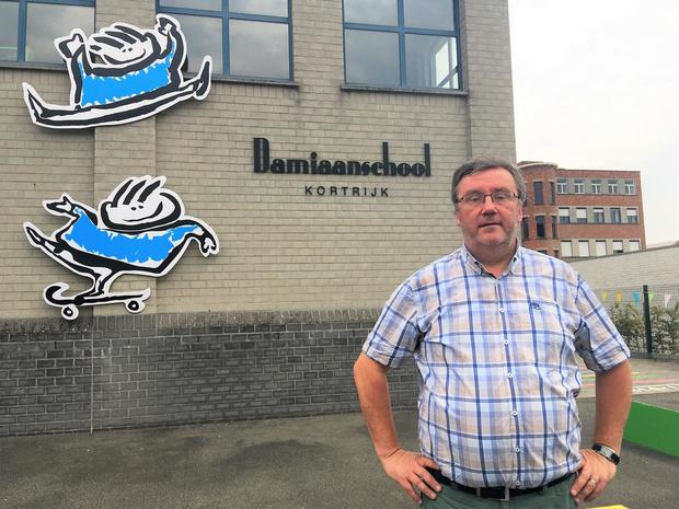 """Alain Seynhaeve nieuwe directeur Damiaanschool: """"Nog eens lokaal het verschil maken"""""""