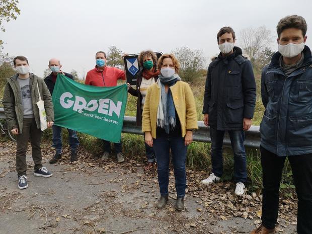 Groen voert actie tegen kap van zonevreemd bossen in Dudzele