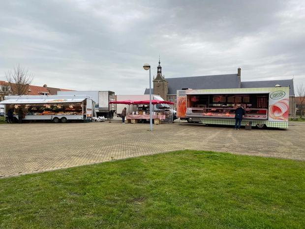 Vrijdagmarkt in Zeebrugge gaat door