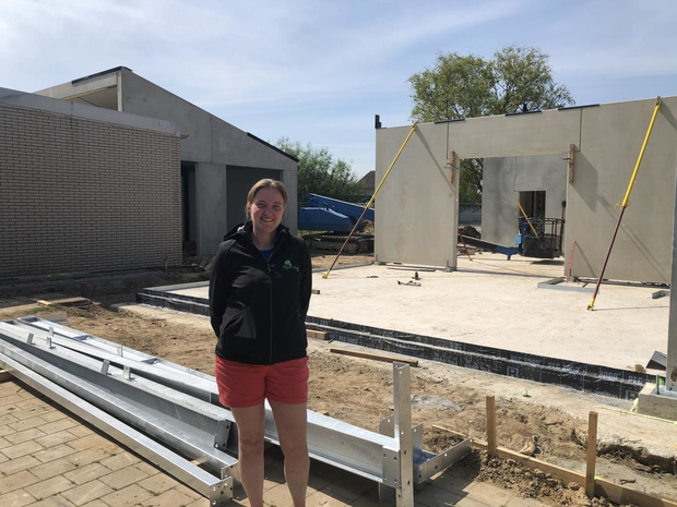 VBS Klavertje Drie in Oostvleteren bouwt nieuwe klaslokalen