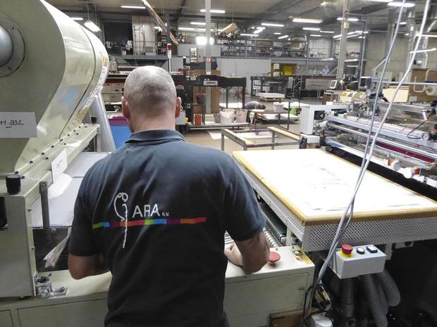 Ara: sublimation et transferts textiles