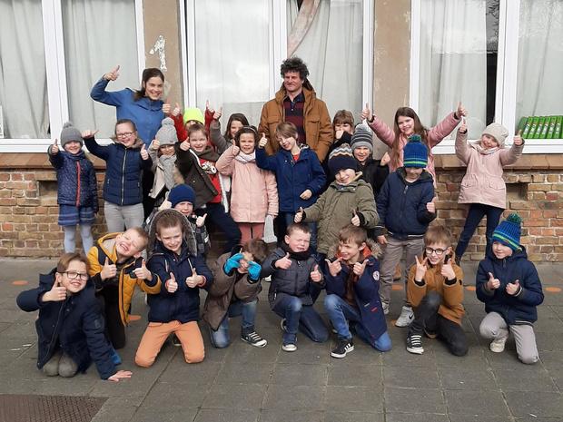 Coronavirus vervroegt laatste lesdag van meester Ignace van basisschool De Ooievaar in Poelkapelle