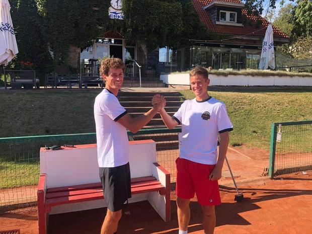 Loïc Carlier en Willem De Jonckheere leiden Oostendse tennisschool