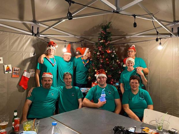 Koks zorgen voor kerstsfeer op kamp KSA Lo