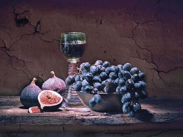 Warmte bij de wijn