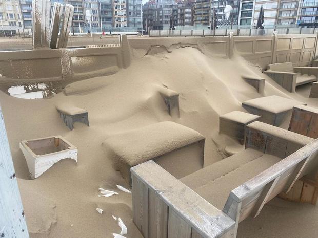 Strandbars voor eventjes zandbars