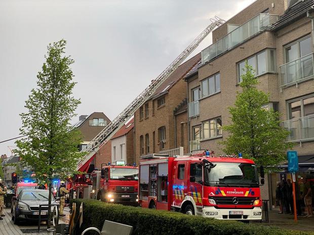 Brandweer in Oostkamp moet uitrukken voor... reflectie van laagstaande zon