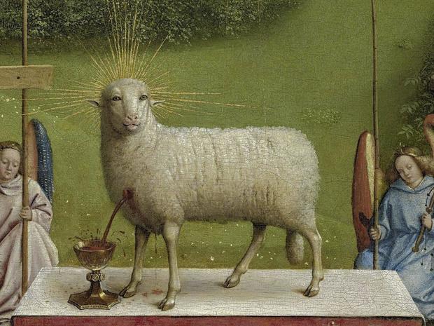 De ogen (en oren) van het lam