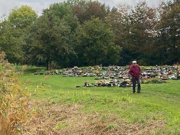Begraafplaats Moorselestraat krijgt tweede urnenveld