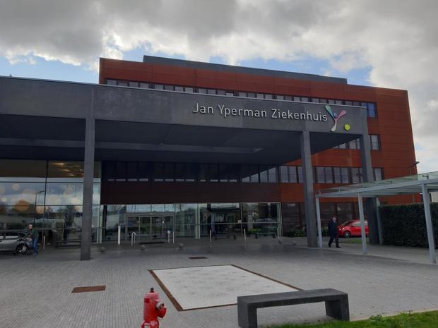 Zeven coronapatiënten opgenomen in Jan Yperman Ziekenhuis, waarvan één op intensieve zorgen