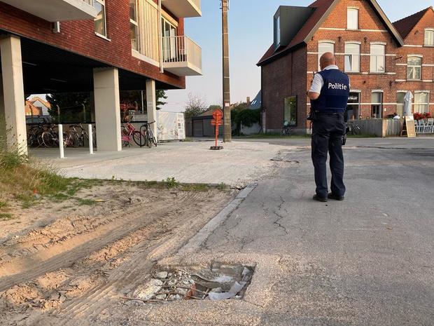 Slecht wegdek zorgt voor autoschade in Oude Kortrijkstraat