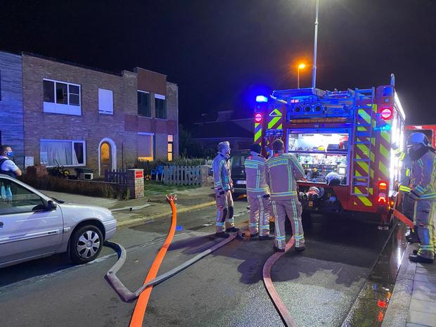 Oven veroorzaakt brand in rijwoning