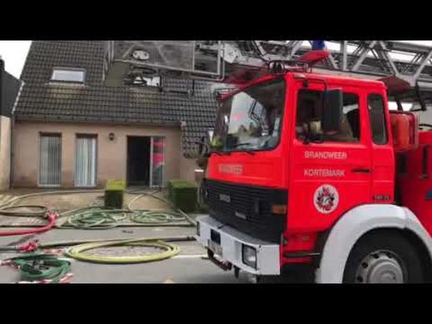 Brand in Bovekerke