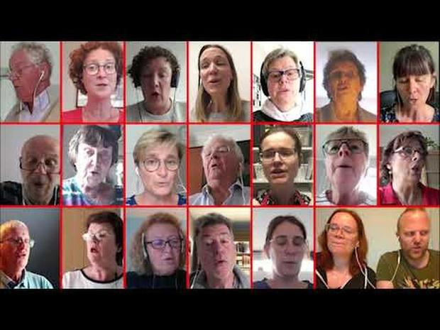 Quadrofolia virtual choir - You are the centre