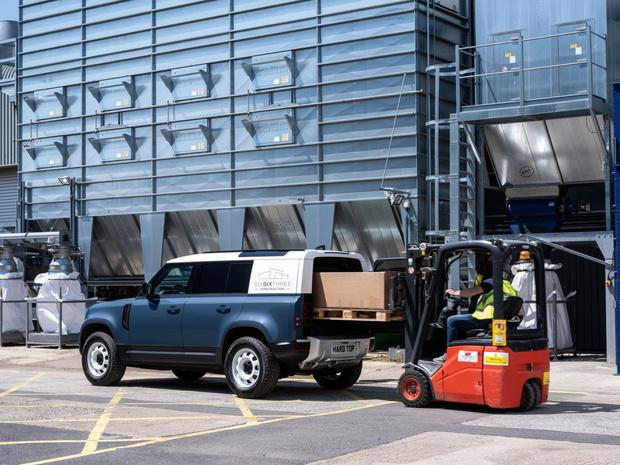 Land Rover Defender, des hard-top pour les utilitaires