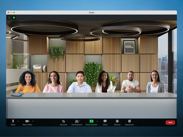 Zoom leukt virtuele meetings op met Immersive View
