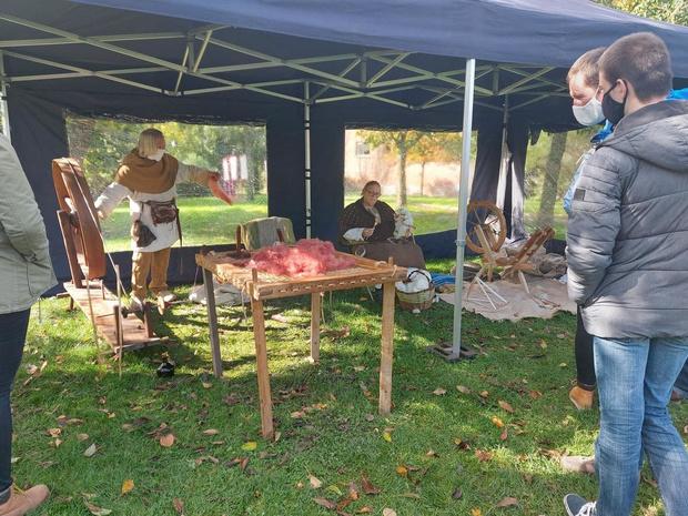Smeden en boogschutters op Vlaamse Archeologiedagen