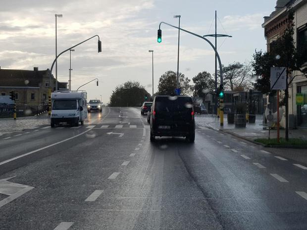 Verkeerslichten aan Hoge Brug in Diksmuide werken opnieuw