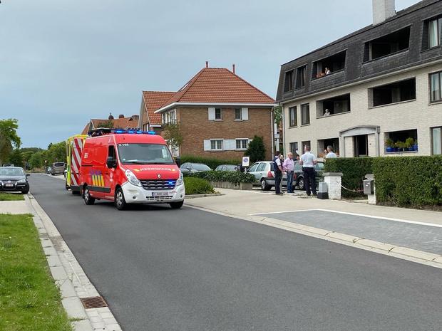 Oudere man overlijdt op oprit appartementsgebouw Sint-Kruis
