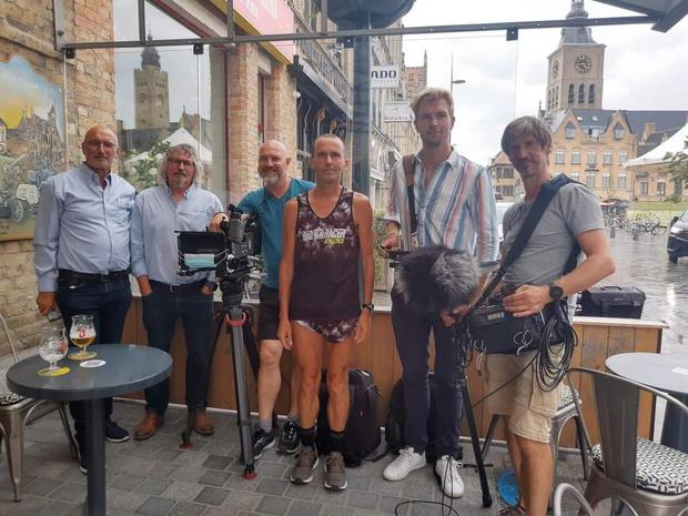 Ruben Van Gucht strijkt met filmploeg neer in Diksmuide