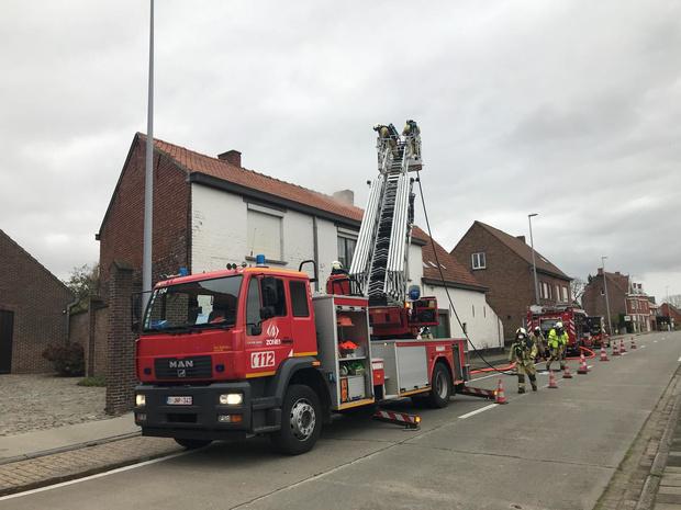 Schouwbrand in Torhoutsestraat zorgt voor hinder
