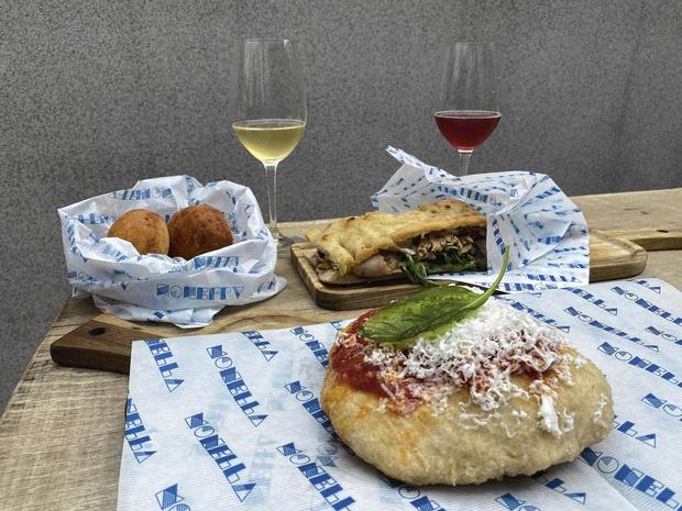 Street food italienne