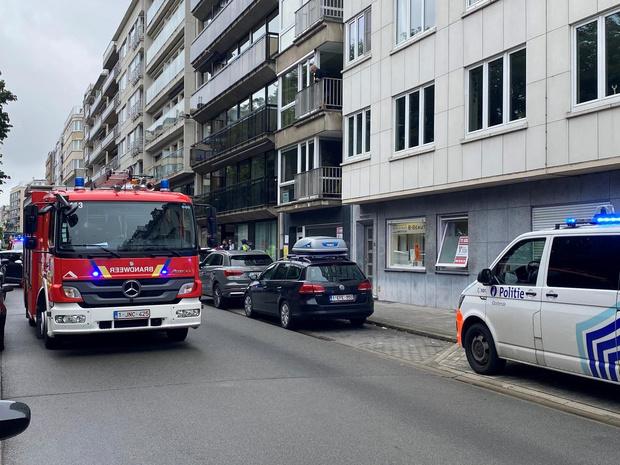 Bezorgde buren melden gaslek in Oostende: vals alarm