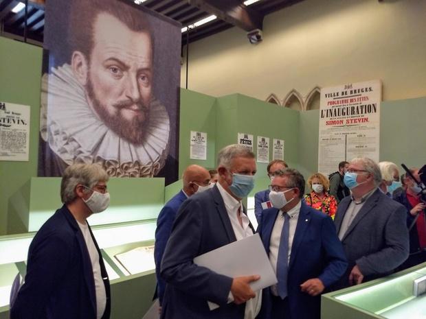 Expo over Simon Stevin - de Brugse Leonardo da Vinci - geopend in het Brugse stadsarchief