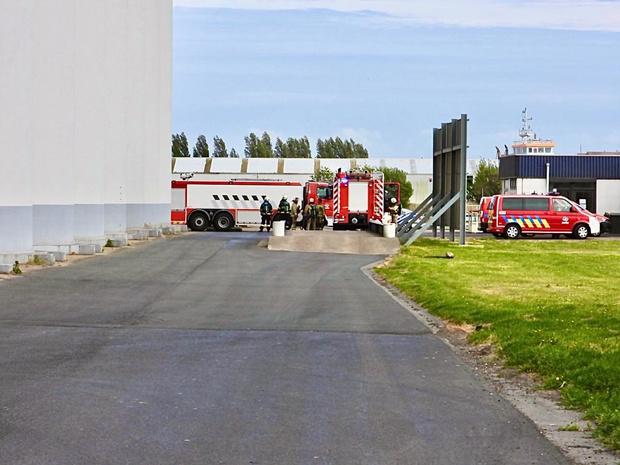 Stofontploffing zorgt voor veel schade in bedrijf in Zeebrugge
