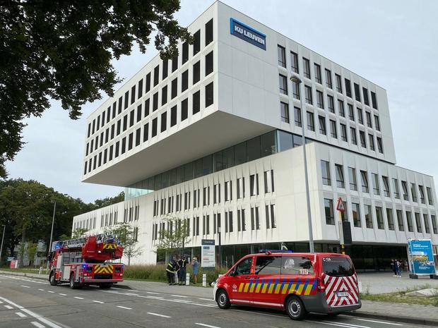 Defecte afzuiginstallatie laat brandalarm afgaan in KU Leuven Campus Brugge