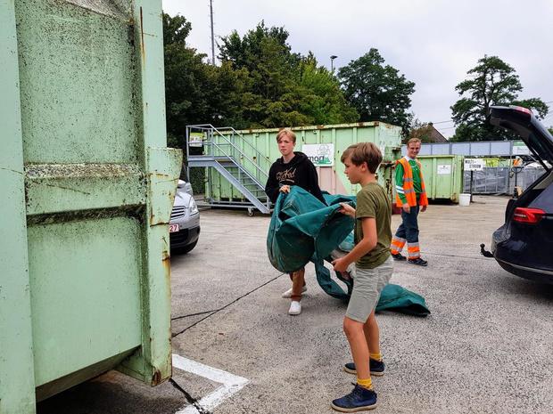 Herorganisatie van containerparken in Anzegem en Vichte vanaf 1 september
