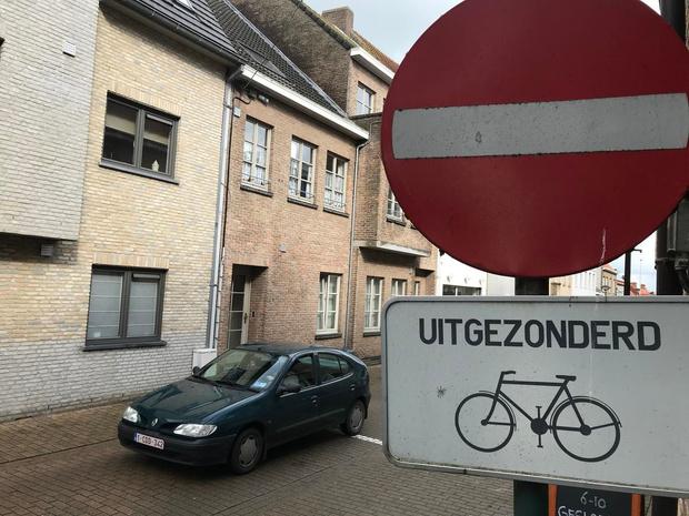 Hart van Oudenburgse stadscentrum wordt fietszone