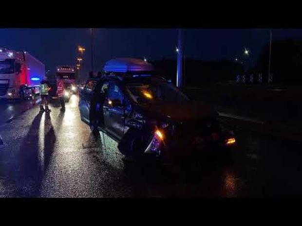 Zwaar ongeval op E40 in Brugge