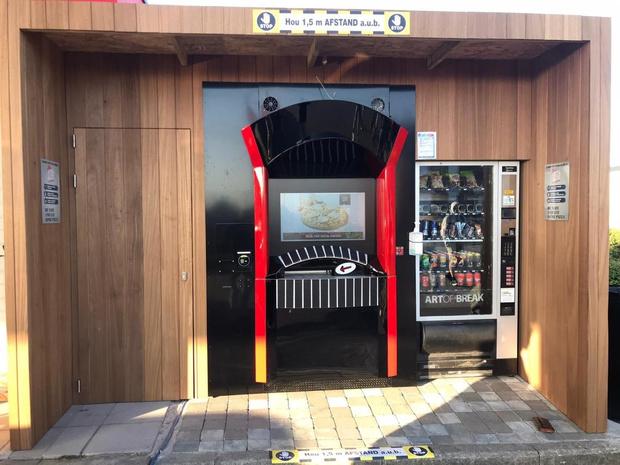 Eerste West-Vlaamse pizza-automaat staat in Avelgem