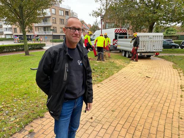 Honderd werknemers ruimen takken en zand op na doortocht storm Odette