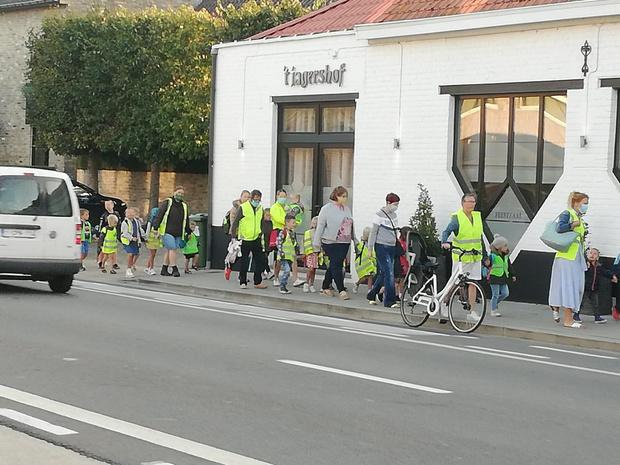 Strapdag in basisschool De Veerkracht