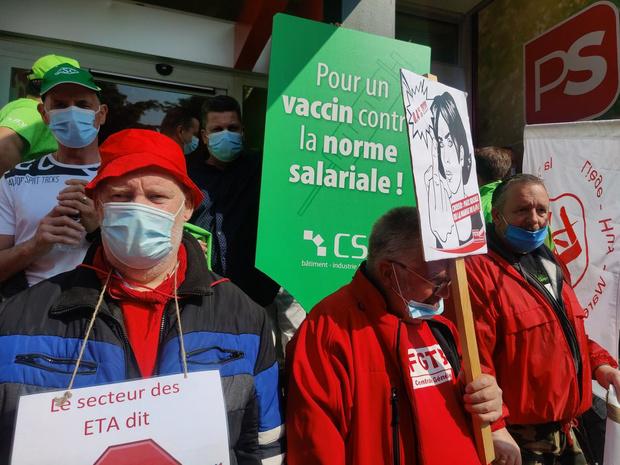 La CSC prône le dialogue social dans la vaccination obligatoire dans les soins de santé