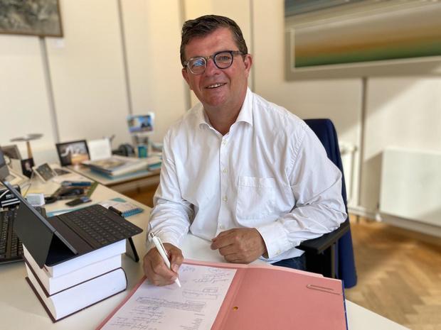 Burgemeester Tommelein maakt de coronabalans op voor Oostende