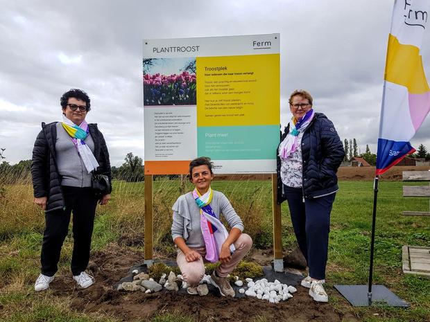 Ferm geeft Anzegemnaren een troostplek op herdenkingsheuvel