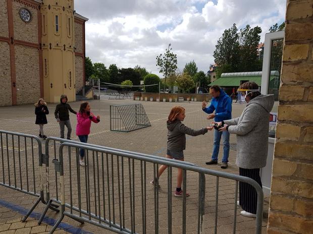 Basisschool Immaculata De Panne past zoveel mogelijk eenrichtingsverkeer toe
