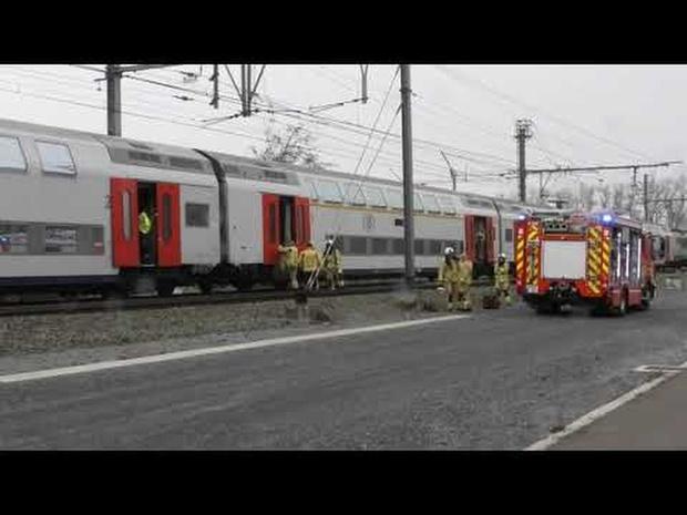 Brandje op trein Brugge-Blankenberge
