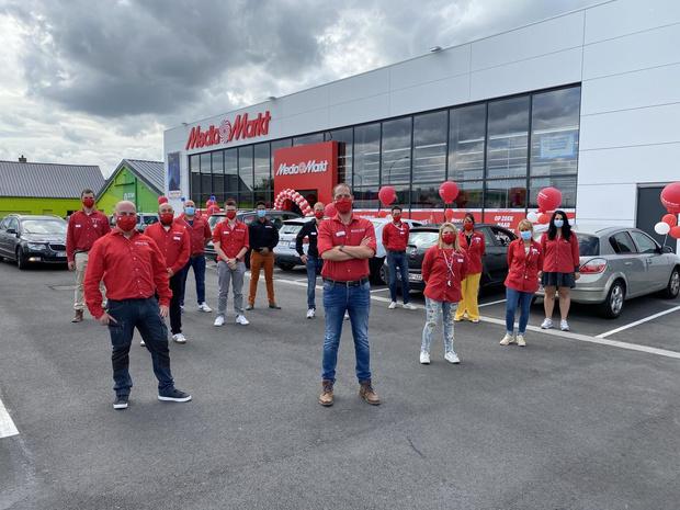 MediaMarkt opent nieuwe winkel in de Torhoutsesteenweg