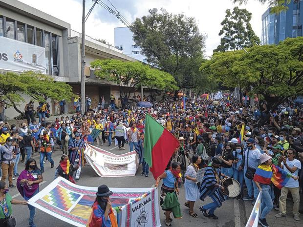 Colombie: le ras-le-bol d'un système