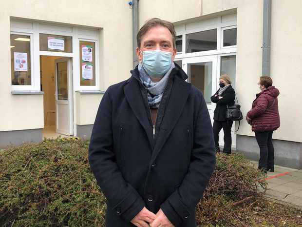 """Ouverture d'un centre de vaccination """" itinérant """" à Saint-Vincent"""