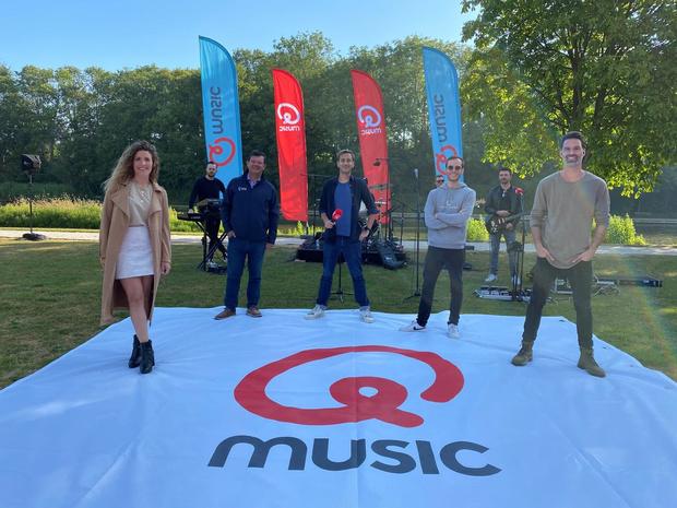 Maria Hendrikapark is deze zomer muzikale uitvalsbasis voor Qmusic
