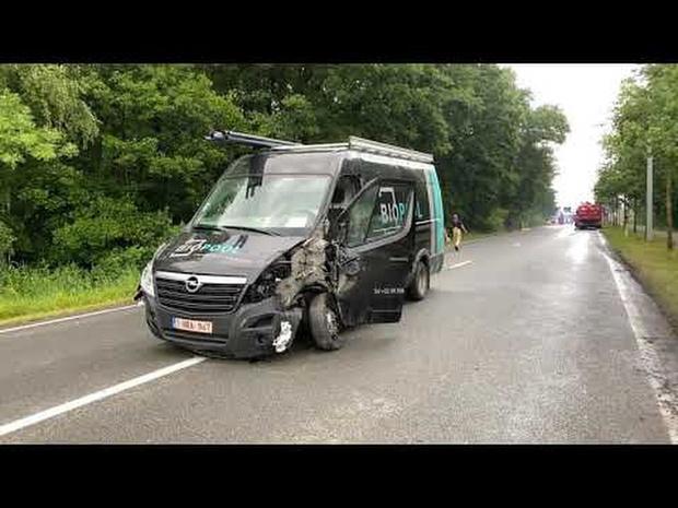 ongeval Sint-Michiels