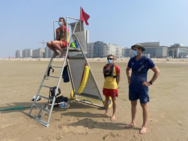 Strandredders in Oostende zijn fysiek geweld beu