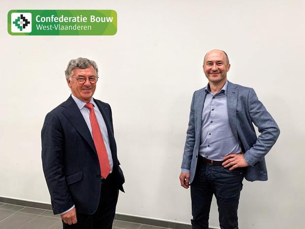 Pedro Pattyn is de nieuwe voorzitter van Confederatie Bouw West-Vlaanderen
