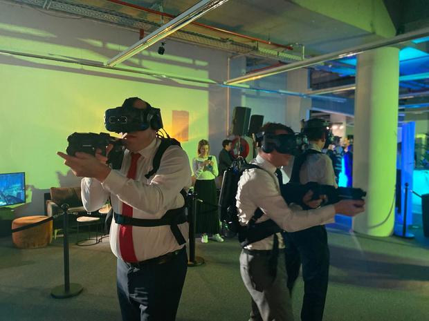 Telenet opent VR-speelhal in hartje Brussel